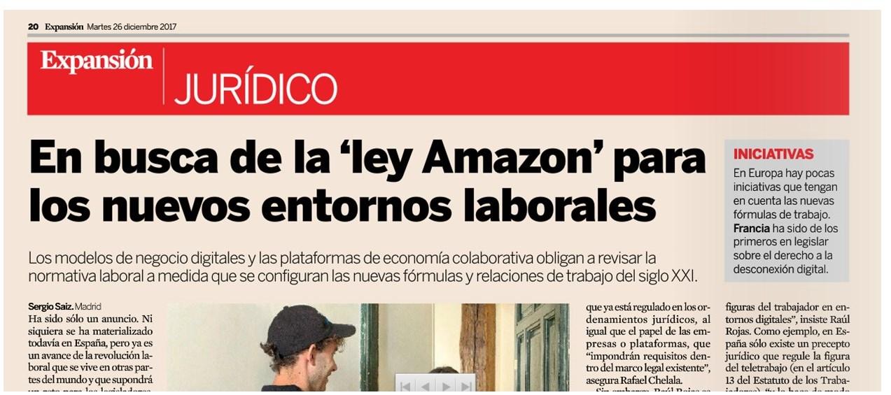Expansión - En busca de la \'ley Amazon\' para los nuevos entornos ...