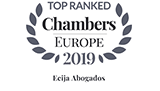 Leading Law Firm Chambers Europe 2019