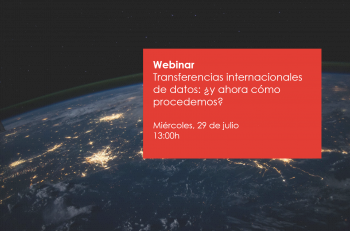 transferencia internacional datos