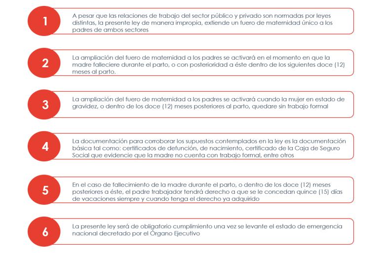 CAPTURA-2-1 Panamá   Informe de la Ley 238 del 15 de septiembre de 2021. El nuevo alcance del fuero de maternidad hasta el padre